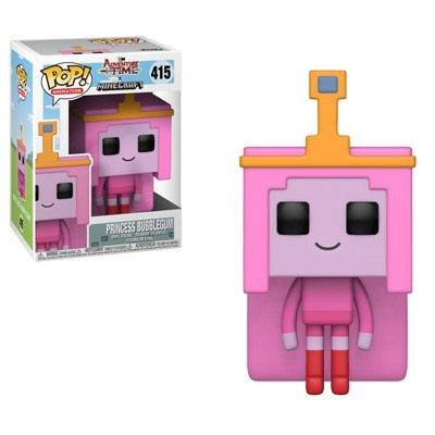 Adventure Time / Minecraft POP! Television Vinyl Figur Princess Bubblegume 9 cm