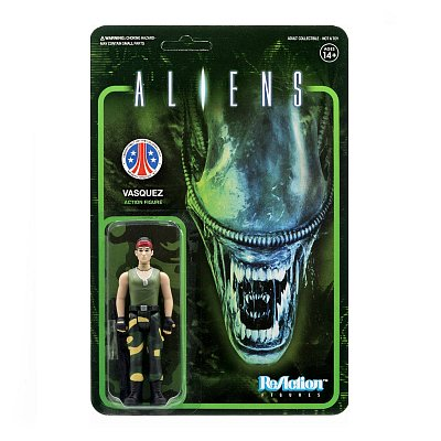 Aliens ReAction Actionfigur Wave 1 Vasquez 10 cm