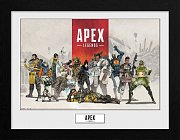 Apex Legends Collector Print Poster im Rahmen Group