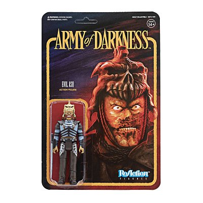 Army of Darkness ReAction Actionfigur Evil Ash 10 cm
