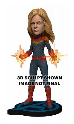 Avengers: Endgame Head Knocker Wackelkopf-Figur Captain Marvel 20 cm