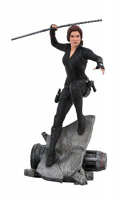 Avengers: Endgame Marvel Movie Premier Collection Statue Black Widow 26 cm --- BESCHAEDIGTE VERPACKUNG