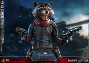 Avengers: Endgame Movie Masterpiece Actionfigur 1/6 Rocket 16 cm