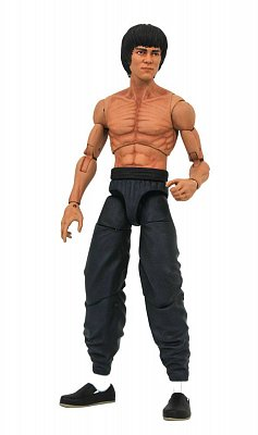 Bruce Lee Select Actionfigur Bruce Lee Shirtless 18 cm
