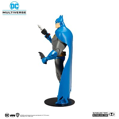 DC Multiverse Animated Actionfigur Animated Batman Variant Blue/Gray 18 cm --- BESCHAEDIGTE VERPACKUNG
