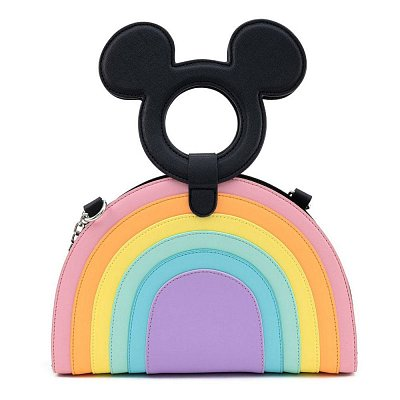 Disney by Loungefly Umhängetasche Mickey Mouse Pastel Rainbow