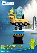 Disney Coin Ride Series D-Stage PVC Diorama Monsters Inc. 16 cm