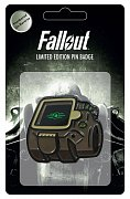 Fallout Ansteck-Pin Vault-Tec Glow In The Dark Logo Limited Edition