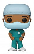 Front Line Worker POP! Heroes Vinyl Figur Male #2 9 cm