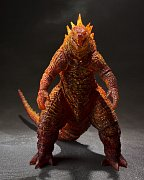 Godzilla: King of the Monsters 2019 S.H. MonsterArts Actionfigur Burning Godzilla 16 cm --- BESCHAEDIGTE VERPACKUNG