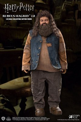 Harry Potter My Favourite Movie Actionfigur 1/6 Rubeus Hagrid 2.0 40 cm --- BESCHAEDIGTE VERPACKUNG