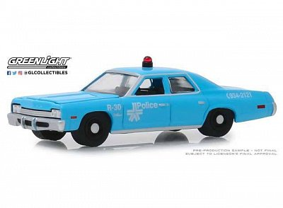 Hot Pursuit Diecast Modell 1/64 1974 Dodge Monaco Montreal Canada Police