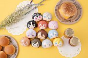 Idolish7 Fluffy Squeeze Bread Anti-Stress-Figuren 8 cm Sortiment (8) --- BESCHAEDIGTE VERPACKUNG