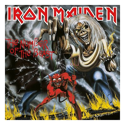 Iron Maiden Rock Saws Puzzle The Number Of The Beast (1000 Teile)