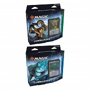 Magic the Gathering Kaldheim Commander-Decks Display (6) spanisch