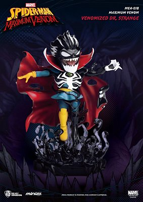 Marvel Maximum Venom Collection Mini Egg Attack Figur Venomized Dr. Strange 14 cm