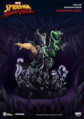 Marvel Maximum Venom Collection Mini Egg Attack Figur Venomized Groot 9 cm