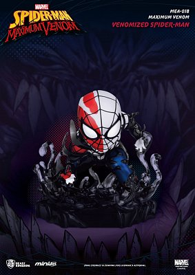 Marvel Maximum Venom Collection Mini Egg Attack Figur Venomized Spider-Man 8 cm