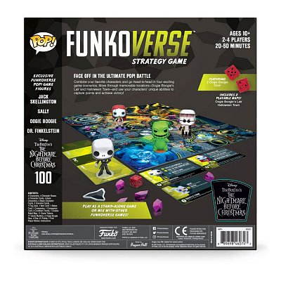 Nightmare before Christmas Funkoverse Brettspiel Strategy Game *Englische Version*