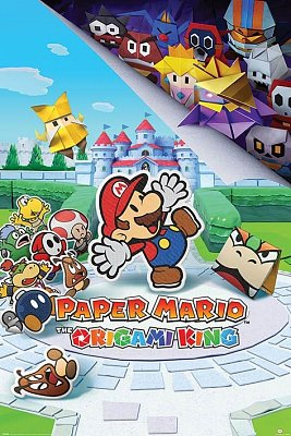 Paper Mario Poster Set The Origami King 61 x 91 cm (5)