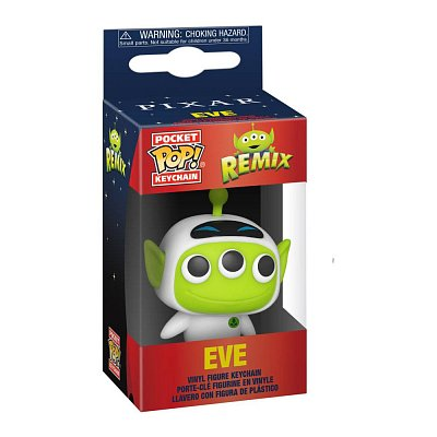 Pixar Pocket POP! Vinyl Schlüsselanhänger 4 cm Alien as Eve Display (12)