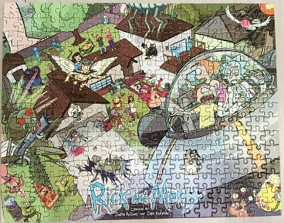 Rick and Morty Puzzle LC Exclusive --- BESCHAEDIGTE VERPACKUNG