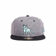 Rick and Morty Snapback Cap Outer Space Cat