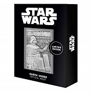 Star Wars Iconic Scene Collection Metallbarren Darth Vader Limited Edition