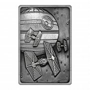 Star Wars Iconic Scene Collection Metallbarren Death Star Limited Edition