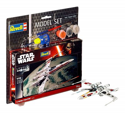 Star Wars Modellbausatz 1/112 Model Set X-Wing Fighter 11 cm