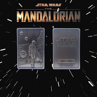 Star Wars: The Mandalorian Iconic Scene Collection Metallbarren The Mandalorian Limited Edition