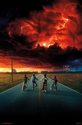 Stranger Things 2 Poster Set Key Art 61 x 91 cm (5)