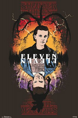 Stranger Things Poster Set Eleven 61 x 91 cm (5)