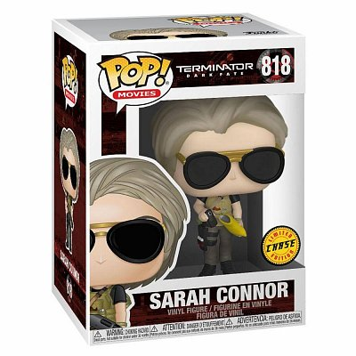 Terminator: Dark Fate POP! Movies Vinyl Figuren Sarah Connor 9 cm Sortiment (6) --- BESCHAEDIGTE VERPACKUNG