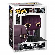 The Falcon and the Winter Soldier POP! Marvel Vinyl Figur Baron Zemo 9 cm
