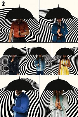 The Umbrella Academy Poster Set Family 61 x 91 cm (5)