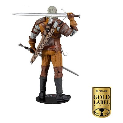 The Witcher Actionfigur Geralt of Rivia Gold Label Series 18 cm