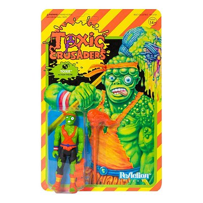 Toxic Crusaders ReAction Actionfigur Wave 1 Toxie 10 cm