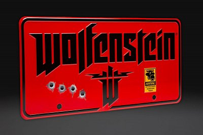 Wolfenstein  Me­tall­schild The New Colossus