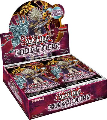 Yu-Gi-Oh! Legendary Duelists 7 Rage of Ra Unlimited Reprint Booster Display (36) *Englische Version*